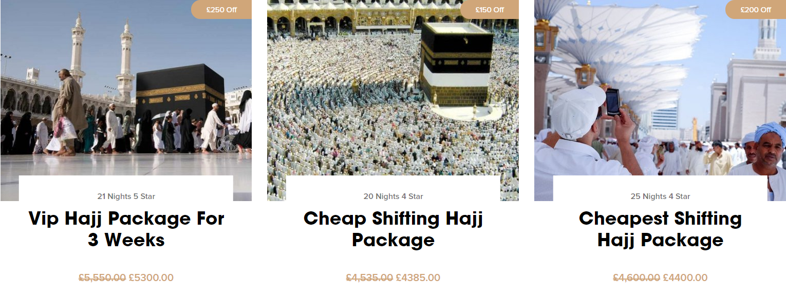 Find Best HAJJ packages1