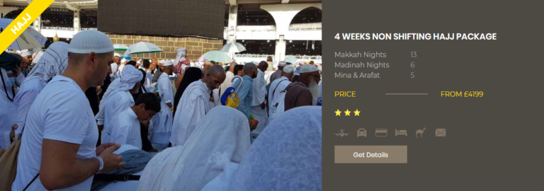 How Much Does It Cost to Go to Hajj From UK