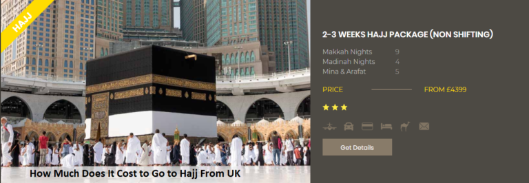 How Much Does It Cost to Go to Hajj