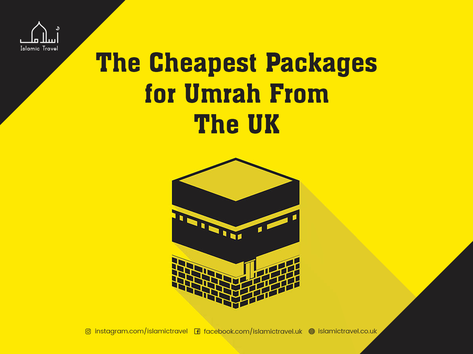Umrah Banner: The Cheapest Packages For Umrah From The UK